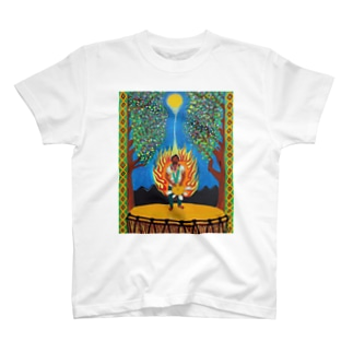 Djembe man connected with God T-shirts