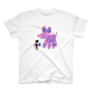 NIPPASHI SHOP™のグラフィティマウス T-shirts