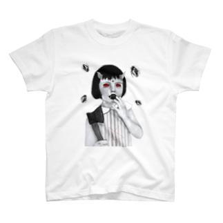 evil girl T-shirts
