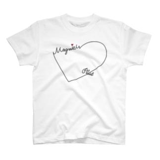 ハートロゴTシャツ T-shirts