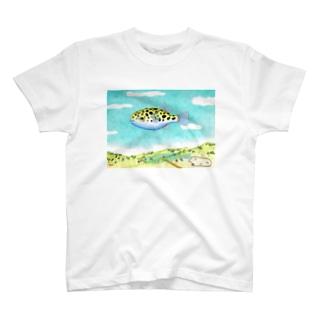 ソラフグ T-shirts