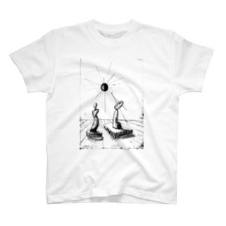 平和を願う男女 T-shirts