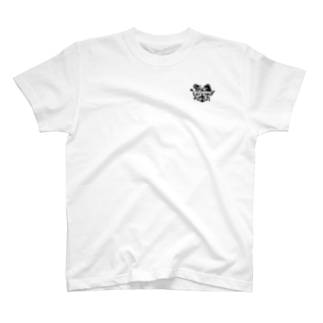 One Point T-Shirt[White] / ワンポイントTシャツ 白 - Music Place TERMINAL - T-shirts