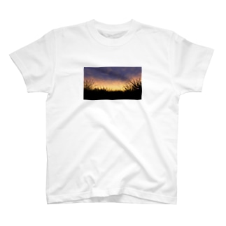 夕暮れの空 T-shirts