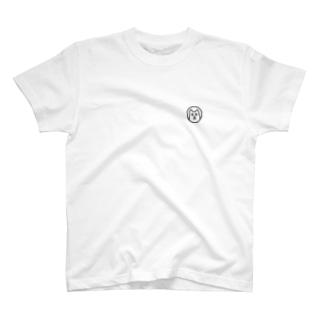 ワンポイントにゃんこ T-shirts