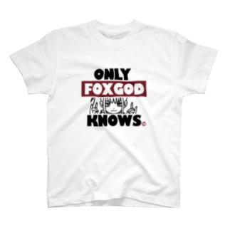 一般販売用 ONLY FOXGOD KNOWS 03 T-shirts