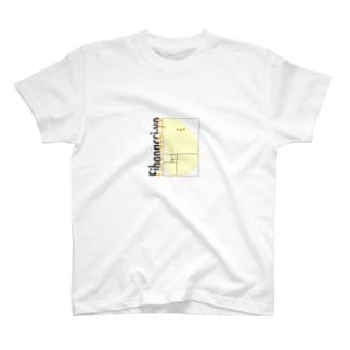 フィボナッチーヨ T-shirts