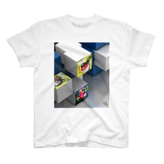 伝説の、にょ☆キュ~ブ T-shirts