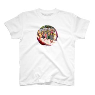 モナリザパラダイス003 T-shirts