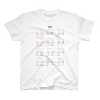 mnのカレンダー 2015 T-shirts