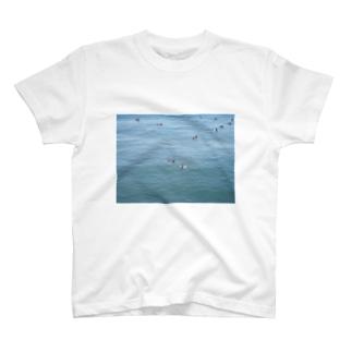 横浜の海 T-shirts