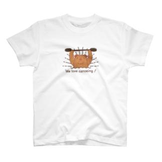 We love canoeing ! T-shirts