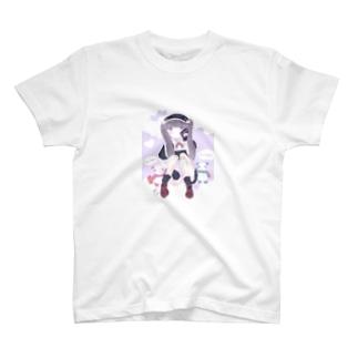 パンダガールときゅうけい T-shirts