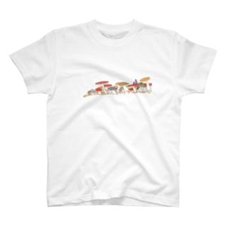 きのこパレード T-shirts