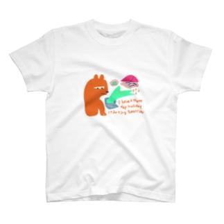 明日から三連休! T-shirts