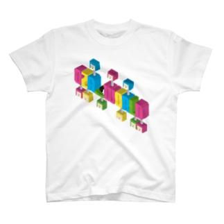 ロゴ風だけどロゴじゃないよ。 T-shirts
