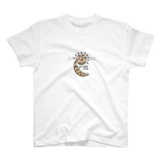 【24×365×∞】日月P-small T-shirts