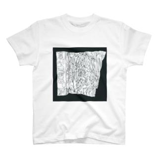 サイトウアケミのアルミホイル T-shirts