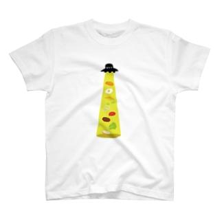 キャトラレバーガー T-shirts