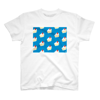浮世似顔絵堂の涼しいショートケーキ~ T-shirts