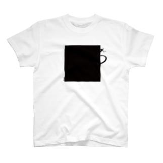 ましかく(white) T-shirts