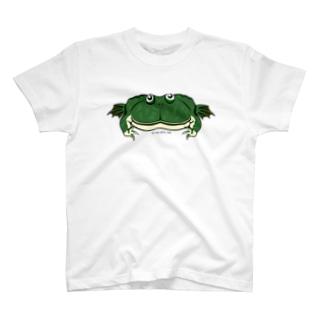タピオカガエル両面Tシャツ T-shirts