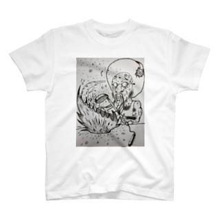 炒ファンク(チャーファンク) T-shirts