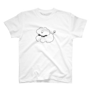 もふもふコッティ T-shirts