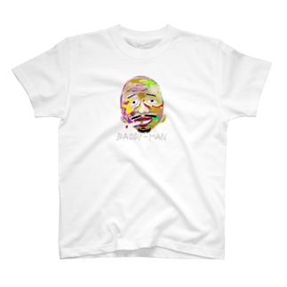【colorful face】p-medium T-shirts