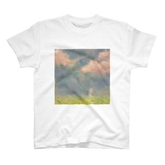 菜種の原で T-shirts