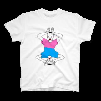 Kenpoppunkのうさぎとしか T-shirts