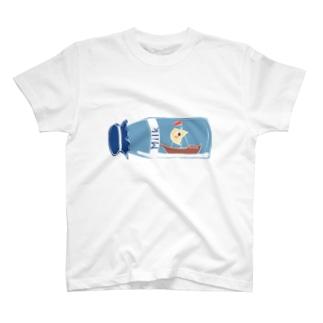 Milk ship T-shirts