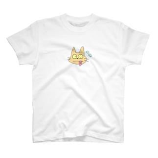 アチチにゃんこ T-shirts