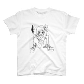 ギャっぽい娘 T-shirts