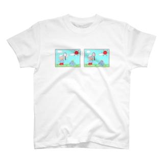 わんとまちがいさがし T-shirts