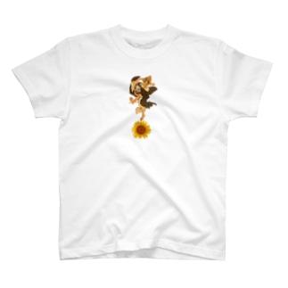 暁斎ゴッホ T-shirts