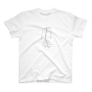 からだが きれいな おんなのこ T-shirts