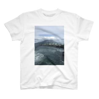 The 桜島 T-shirts