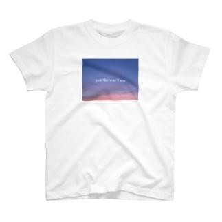 ありのままで T-shirts