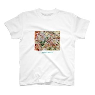 クドームーン ピザT T-shirts