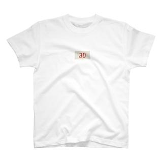 30番のTシャツ T-shirts