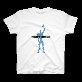 BOT KENCHIKUのモデュロールマン T-shirts