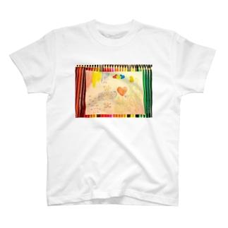 赤青黄ノ天使 Tシャツ T-shirts