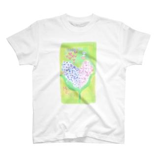 ありがとうがいっぱい T-shirts