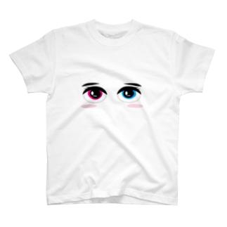 カラーアイズ T-shirts