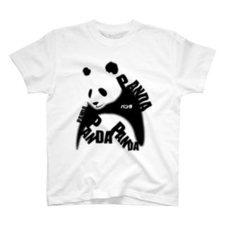 パンダパンダパンダ T-shirts