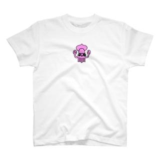 ダイオウホオズキイカTシャツ T-shirts