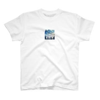 お陰で今日も空は青い T-shirts