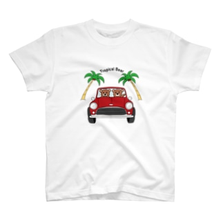 Tropical Bear トロピカルベアー T-shirts