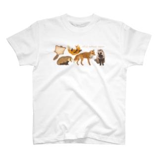 Wild animal japan T-shirts